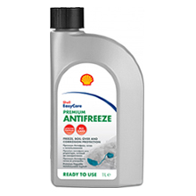 Антифриз синий Shell Premium Antifreeze