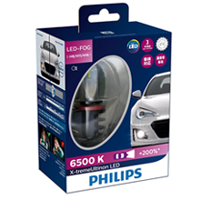 H11/H8/H16 Philips X-treme Ultinon LED 6500К (к-т) 12794UNIX2