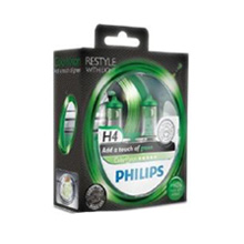 H4 Philips ColorVision Green +60% (2шт)