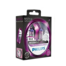 H4 Philips ColorVision Purple +60% (2шт)