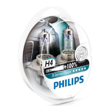 H4 Philips X-tremeVision +100% (2шт)
