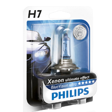 H7 Philips BlueVision Ultra 4000 Кельвинов (2шт)