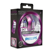 H7 Philips ColorVision Purple +60% (2шт)
