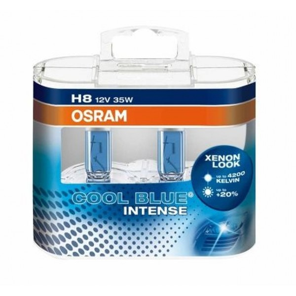 H8 Osram Cool Blue Intense  4200 Кельвинов. +20% (2шт)