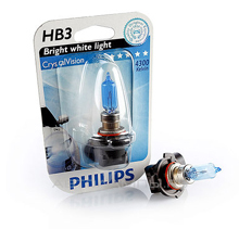 HB3 Philips CrystalVision 4300 Кельвинов (2шт)