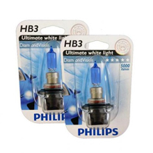 HB3 Philips DiamondVision 5000 Кельвинов! (2шт)