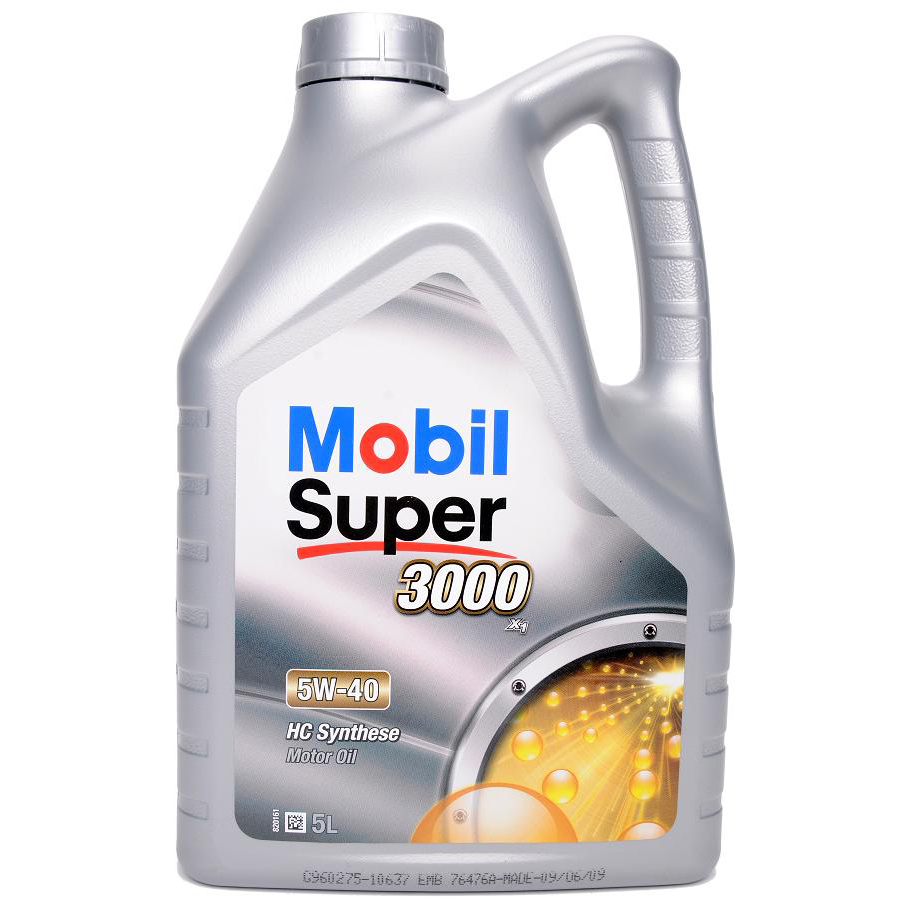 Mobil Super 5W-40 3000 X1 HC Synthese