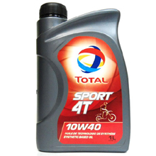 Моторное масло Total Sport 4T 10W-40