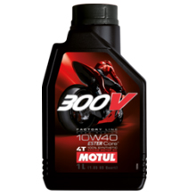 MOTUL 10W-40 300V 4T Factory Line Road Racing 836111, 836141