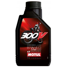 MOTUL 5W-40 300V 4T Factory Line Off Road 845611, 845641